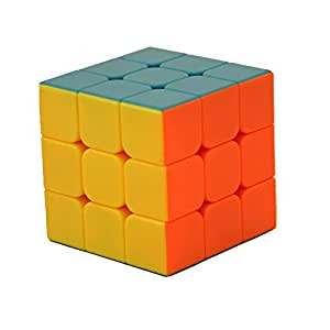 3X3 Extra Smooth Full Colour Rubik's Cube Puzzle [Toy]