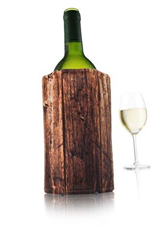 Vacu Vin Active Cooler Wine, Wood by Vacu Vin