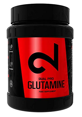 DUAL Pro Glutamin | Für Frauen & Männer | 500g feines Pulver |Leicht löslich|100{3bd1381d5d10f712b820cfa72b952d99ac074126fb7430551164a86b280c0aae} natürliches Nahrungsergänzungsmittel|Labor zertifiziert| Ohne Zusätze | Bis zu 3-Monats-Vorrat| In Europa hergestellt