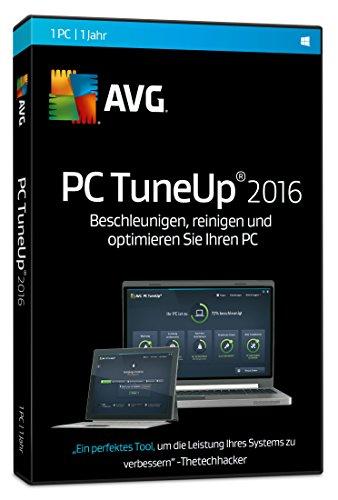 AVG TuneUp Utilities 2016 1-Platz [CD-ROM] Windows 10 / Windows 8 / Windows 7 / Windows Vista / Windows XP SP3 (DVD-Box)