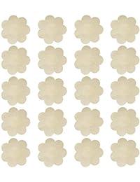 KQueenStar Nipple Cover - Einweg Wasserdichte Unsichtbare Satin Nippelabdeckung Einweg Brust Aufkleber Nippel Cover Nippelpads