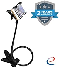 Energic Snake Design Adjustable Phone Holder Stand with 360 Degree Rotation Movement Compatible with All Mobile (Assorted Color)