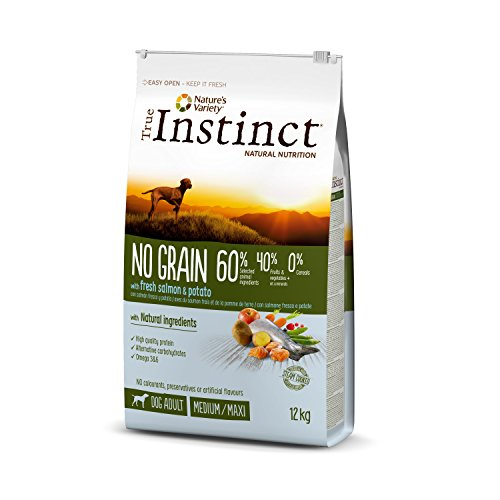True Instinct No Grain Pienso Perros Medium