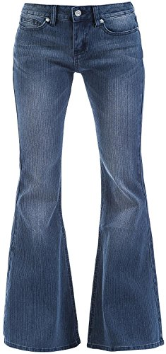 R.E.D. by EMP Leila (Boot-Cut) Jeans donna blu scuro W35L34