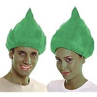 My Other Me - Peluca troll, color verde (Viving Costumes 203823)