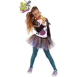 DISBACANAL Disfraz roquera Bonnie para niña - Único, 5-7 años