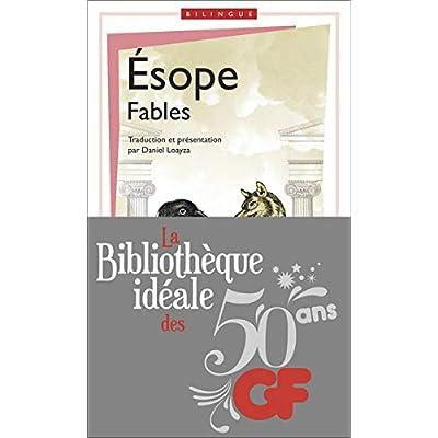 La bibliothèque idéale des 50 ans GF, Tome 14 : Fables : Edition bilingue français-grec ancien
