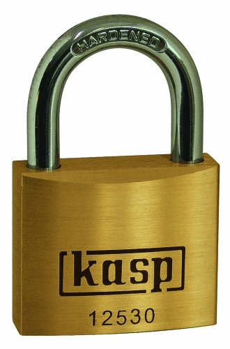 Kasp K12530A1 Lucchetto in ottone premium, 30 mm a chiave unica