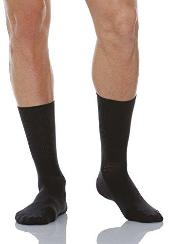 Relaxsan 560 (Anthracite, Taille 4) Chaussettes pour diabétiques avec fibre naturelle Crabyon
