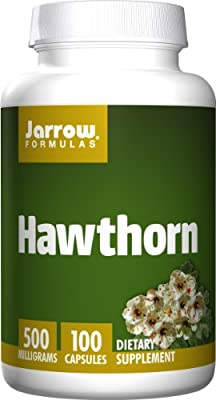 Jarrow Hawthorn (500mg, 100 Capsules) by Jarrow FORMULAS