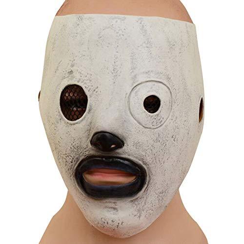 Gzhengjie Unisex Gusspower Halloween Masken, Bloody Zombie Maske Melting Gesicht Erwachsene Latex Kostüm Walking Dead Halloween Scary