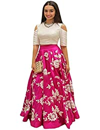 cdd11c4a3f Amazon.in: 50% Off or more - Lehenga Cholis / Ethnic Wear: Clothing ...