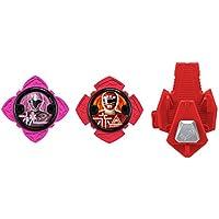 Power Rangers 43490Ninja Acier Power Star Lot avec lanceur
