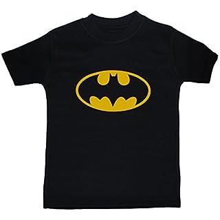 Acce Products Batman Bat Baby/Children T-Shirts/Tops - 0-3 Months - Black