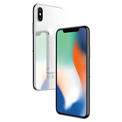 Apple MQAD2ZD/A iPhone X 14,7 cm (5,8 Zoll), (64GB, 12MP Kamera, Auflösung 2436 x 1125 Pix