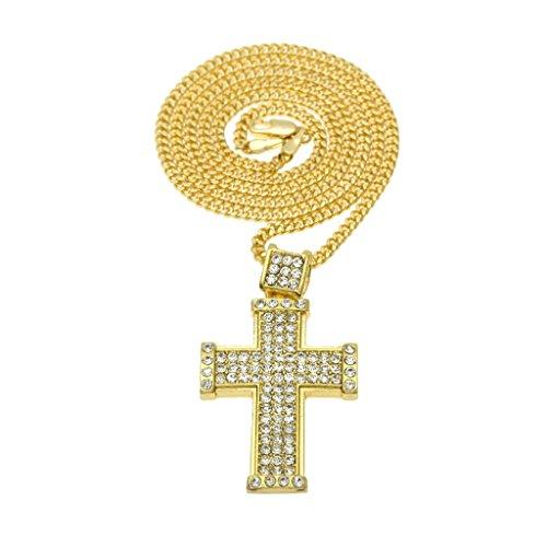 knsam-unisex-chapado-en-oro-collares-colgantes-cruz-oracion-de-jesus-24in-cuban-enlace-orocollar-de-
