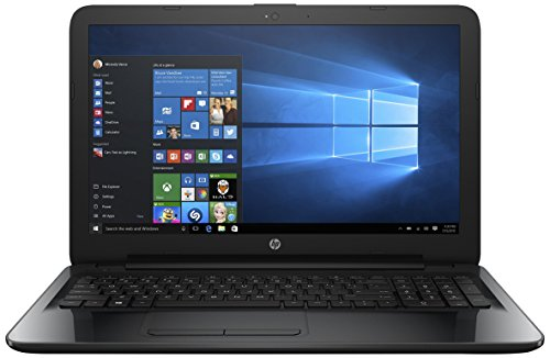 HP 15-bg007AU 15.6-inch Laptop (AMD A6-7310/4GB/500GB/Windows 10 Home/Integrated Graphics), Sparkling Black