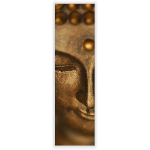 Motivscheibe für IKEA Wandleuchte Gyllen im Hochformat mit Motiv: Buddha Gold