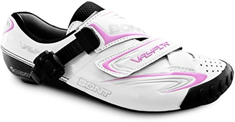 Bont Vaypor Zapatillas de Ciclismo Carretera Blanco/Rosa Talla 38