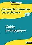 Image de J'apprends à résoudre des problèmes Cycle 2
