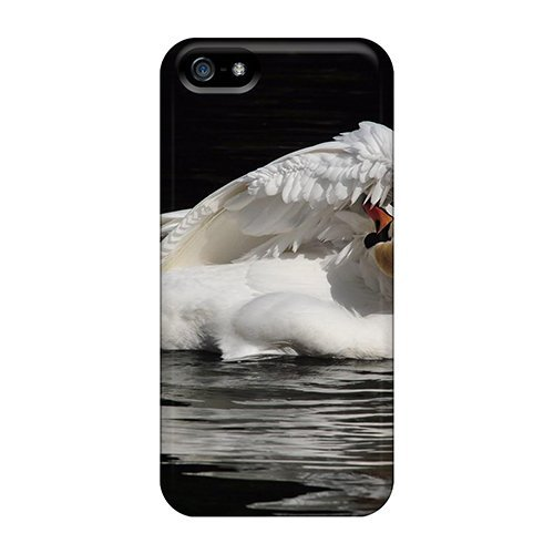 GracesFavor Slim Fit Tpu Protector CVaNB6761ubWNf Shock Absorbent Bumper Case For Iphone 5/5s