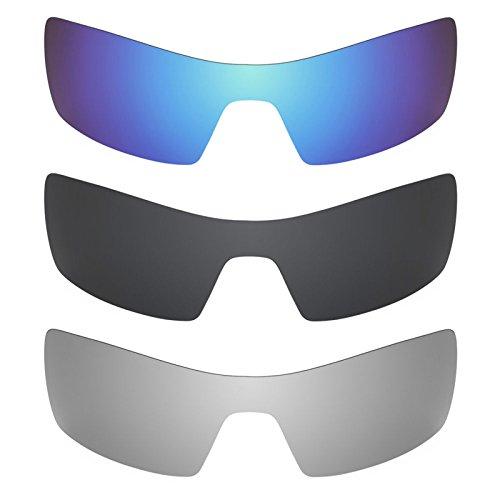 Revant Ersatzlinsen für Oakley Oil Rig Polarisiert 3 Paar Kombipack K015