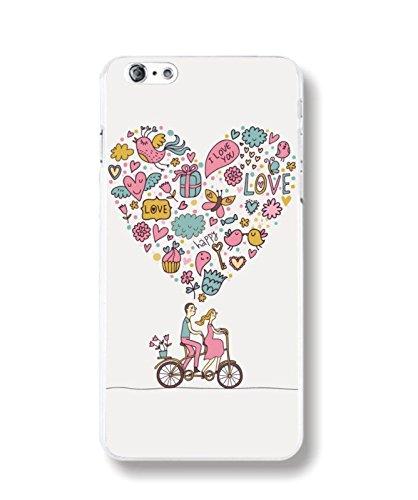 iPhone 6 6S Handyhülle Schutzhülle Hülle Silikon Cover Case Ultra Dünn Slim Backcover TPU transparent Liebe