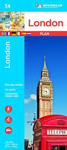 Michelin London: Stadtplan 1:8.000 (MICHELIN Stadtpläne)