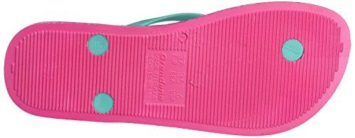 Ipanema Damen Anatomica Soft Zehentrenner Mehrfarbig (pink/green)