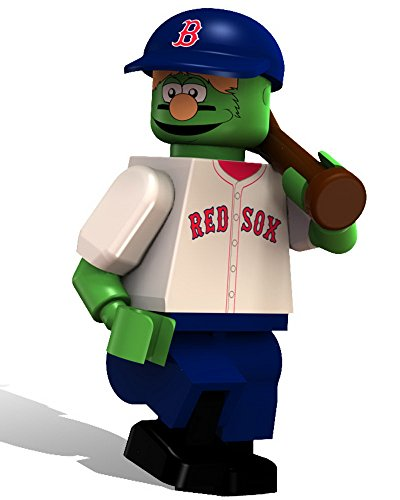 Boston Red Sox OYO Sports MLB Wally The Green Monster Minifigure (Sport-baseball-spielzeug Oyo)