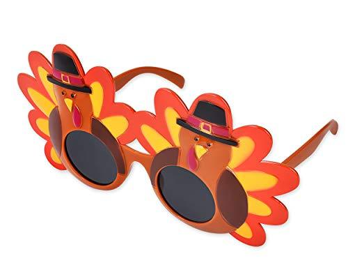 SCSpecial Kreative Türkei Brille Neuheit Party Sonnenbrille Thanksgiving Brillen Cartoon Sonnenbrille Brillen für Thanksgiving Glückliches Kostüm Party Favors