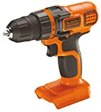 BLACK+DECKER 18 V Lithium-Ion Drill Driver, Bare Unit (Battery not Included)