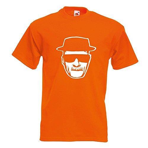 KIWISTAR - Methylamphetamin T-Shirt in 15 verschiedenen Farben - Herren Funshirt bedruckt Design Sprüche Spruch Motive Oberteil Baumwolle Print Größe S M L XL XXL Orange