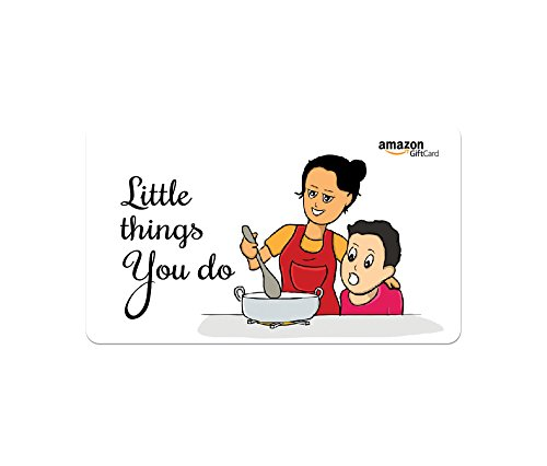 Amazon.in Gift Card - Gifts for Mother   Fridge Magnet - Little things you do - Rs.3000
