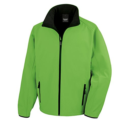 41kusSwuAzL. SS500  - Result Mens Core Printable Softshell Jacket