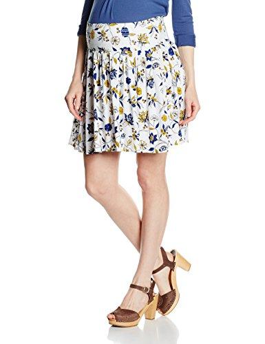 MAMALICIOUS Damen Umstandsrock Mlzoe Woven Skirt Mehrfarbig (Snow White), 38 (Herstellergröße: M) (Skirt Damen Woven)