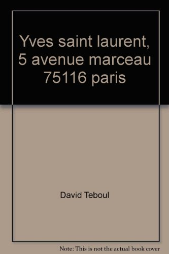 Download Yves Saint Laurent 5 avenue Marceau 75116 Paris
