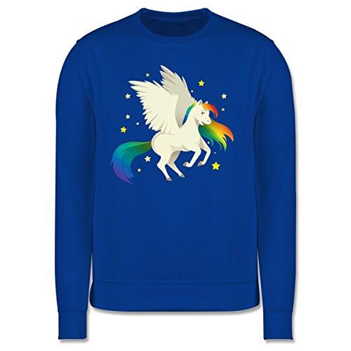 Comic Shirts - Pegasus - Herren Premium Pullover Royalblau