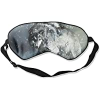 Wolf Walking In Snow Sleep Eyes Masks - Comfortable Sleeping Mask Eye Cover For Travelling Night Noon Nap Mediation... preisvergleich bei billige-tabletten.eu