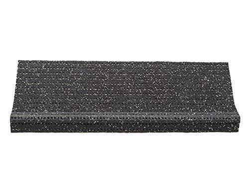 Primaflor - Ideen in Textil Sicherheits-Stufenmatte Anti-Rutsch Matte für Außentreppen - Anthrazit, Rutschhemmende Sicherheitsstufenmatten für Außenbereiche