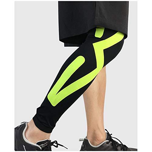WXQQ SportKnieschoner/knieorthese, schnellere Erholung, mehr Stabilität und Unterstützung beim Sport: Skifahren, Laufen und MehrGreen