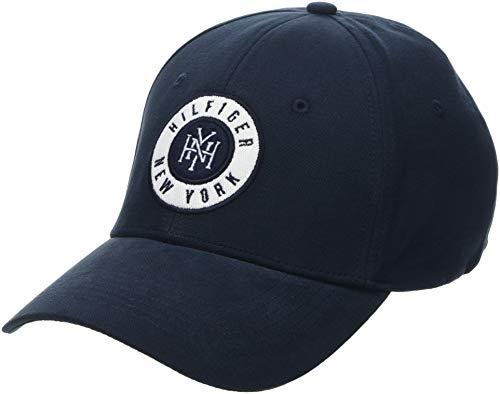 Tommy Hilfiger Herren Baseball Cap Hilfiger Badge, Blau (Tommy Navy 413) One Size (Herstellergröße: OS)