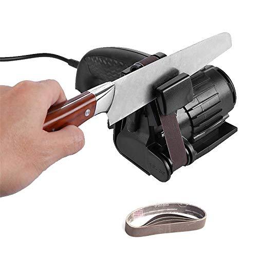 ZXLIFE@ Elektrischer Messerschärfer, Automatisches Schleifen Einstellbarer Winkelmesserschärfer 15 ° Bis 30 °, Schärfgenauigkeit, Schere, Küchenmesser, Haushaltsküchenwerkzeuge