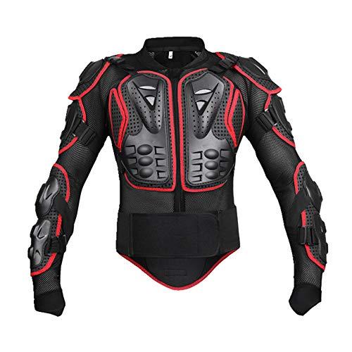 WOLFBIKE Herren Sportjacke Motorrad Racing Body Protective Jacket Protective Gear