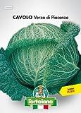 Sementi orticole di qualità l'ortolano in busta termosaldata (160 varietà) (CAVOLO VERZA DI PIACENZA)
