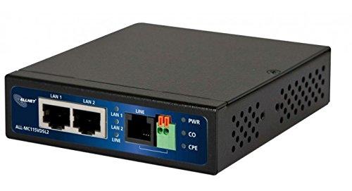 ALLNET all-mc115-vdsl2100000Kbit/s Modem–Modems (100000Kbit/s, 0–50°C, 10–90%, 20–65°C, 110x 27x 95mm, 465g)