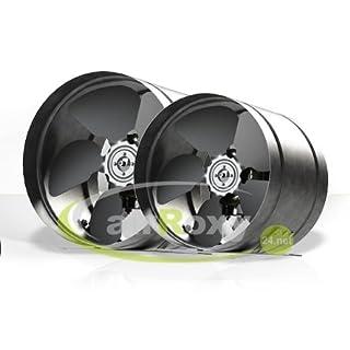 SUCCSALE - Hochwertiger AirRoxy Axialer Rohrventilator Ø 160mm- Rohrlüfter Lüfter Hochdruck Ventilator Abluft Gebläse Metall Radialventilator