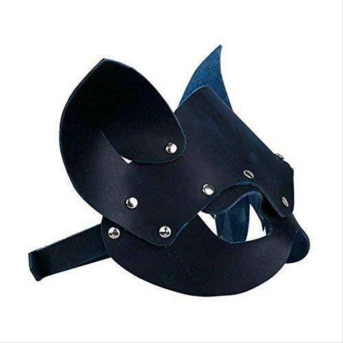 Kostüm Mädchen Hacker - GVBUI Latexmaske Katze Maske Frauen Mädchen Party Kostüm Masken Spezielle Katze Ohren Verstellbare Design Masken Schwarz Rot schwarz