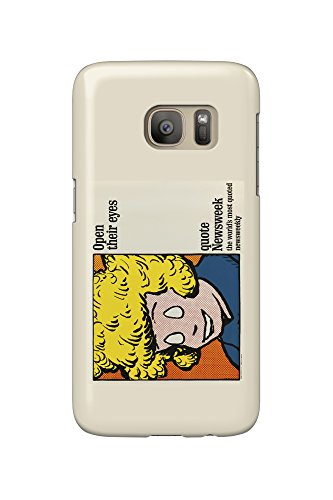 newsweek-open-their-eyes-annie-vintage-poster-usa-c-1964-galaxy-s7-cell-phone-case-slim-barely-there