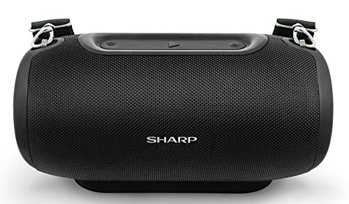 SHARP GX-BT480(BK) - Altoparlante portatile Bluetooth IP54,...